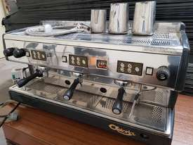 ASTORIA AUTOMATIC 3 GROUP ESPRESSO COFFEE MACHINE, Made in Italy, Commercial, Stainless Steel - picture0' - Click to enlarge