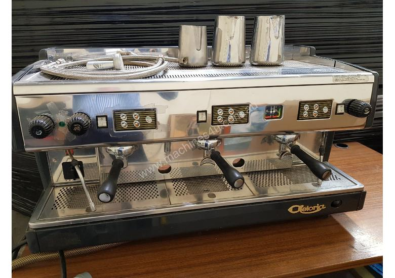 ASTORIA AUTOMATIC 3 GROUP ESPRESSO COFFEE MACHINE, Made in Italy, Commercial, Stainless Steel