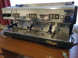 ASTORIA AUTOMATIC 3 GROUP ESPRESSO COFFEE MACHINE, Made in Italy, Commercial, Stainless Steel - picture4' - Click to enlarge