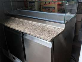 F.E.D. GNS1300E Three Door Salad Marble Prep Top - picture2' - Click to enlarge