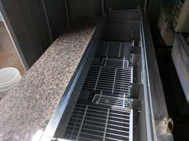 F.E.D. GNS1300E Three Door Salad Marble Prep Top - picture13' - Click to enlarge