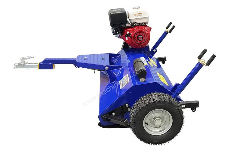 ATV FLAIL MOWER MULCHER WITH 11HP HONDA ENGINE TOW BEHIND UTV UTE QUAD