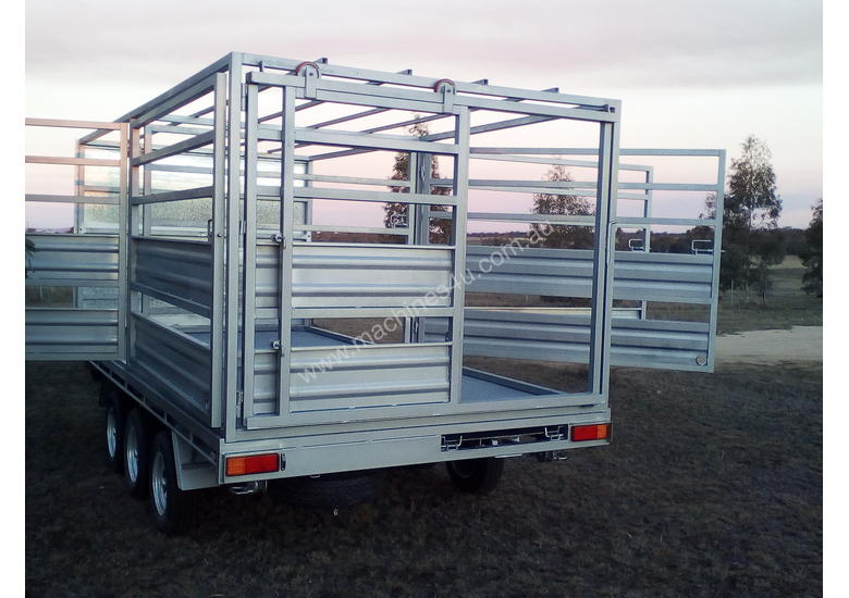 Trailer and Stock Crate