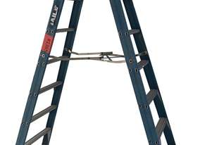 Bailey Fiberglass Step Ladder 2.4 Meter Double Sided Anti Slip Feet