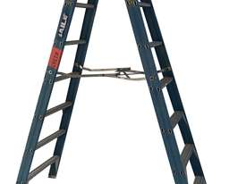 Bailey Fiberglass Step Ladder 2.4 Meter Double Sided Anti Slip Feet - picture0' - Click to enlarge
