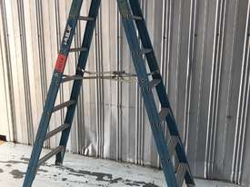 Bailey Fiberglass Step Ladder 2.4 Meter Double Sided Anti Slip Feet - picture2' - Click to enlarge