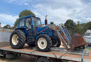 Iseki tractor 4x4 front end loader