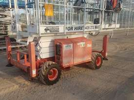 Scissor lift  All terrain snorkel scissor lift  - picture0' - Click to enlarge