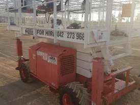 Scissor lift  All terrain snorkel scissor lift  - picture2' - Click to enlarge