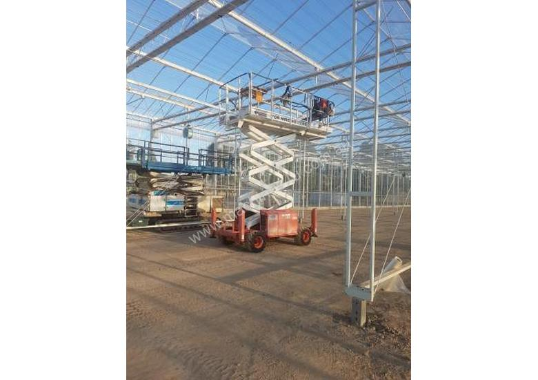 Scissor lift  All terrain snorkel scissor lift