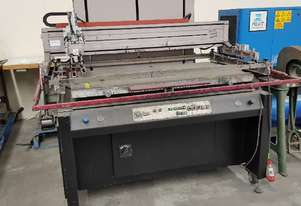 FLATBED SCREEN PRINTER ATMA AT-120P * SOLD *. JW AGENCIES * SOLD *