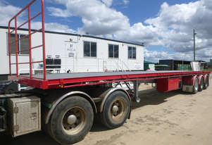 Maxitrans Semi Flat top Trailer