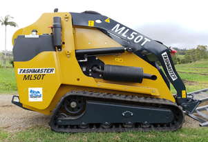 Mini Skid Steer Loader. ML50T Tracked. 50hp Kubota Diesel Engine. Joystick Control + 4/1 Bucket.