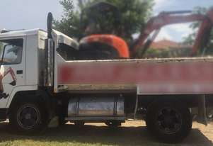 1990 Volvo FL-7 Single Axle Tipper.  TS454
