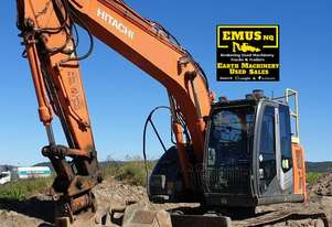 Hitachi ZX135US-3, 13.5t excavator, Tilt hitch.  MS504