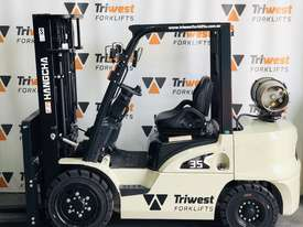 HIRE - NEW HANGCHA 3.5T DUEL FUEL COUNTERBALANCE FORKLIFT - picture0' - Click to enlarge