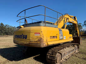 Komatsu PC350LC-8 Tracked-Excav Excavator - picture3' - Click to enlarge