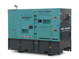 220 KVA DIESEL GENERATOR 3 PHASE 415 V -  BACK-UP - 2 YEARS WARRANTY - picture0' - Click to enlarge