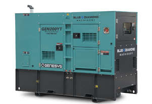 220 KVA DIESEL GENERATOR 3 PHASE 415 V -  BACK-UP - 2 YEARS WARRANTY