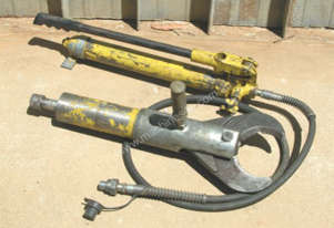 Enerpac   cutter and pump