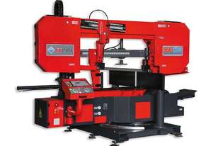 Karmetal KDG Twin Column Semi-Automatic Double Mitre Bandsaw