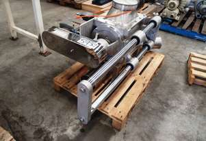 Drop Through Rotary Valve, IN/OUT: 300mm L x 200mm W
