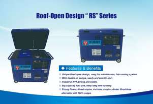 "Conon Motor Roof-Open Design ""RS"" Series"