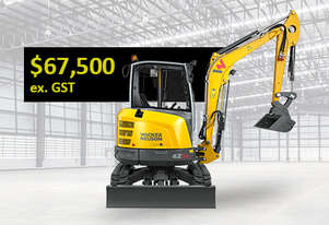 Wacker Neuson EZ36 Now Available