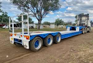 STECO drop neck low loader