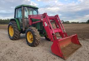 John Deere   6300 90Hp + Loader