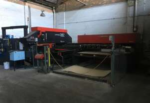 Amada VIPROS 357 Queen with Loader and Unloader