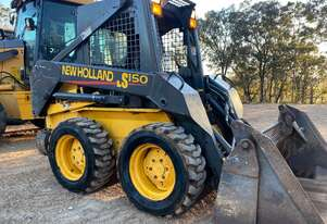 New Holland LS150 2040Kg Skid Steer with 4in1 Bucket