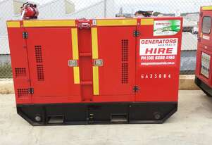 Excellent long term hire rates available 35 KVA Kubota Power Remote Series 35kVA