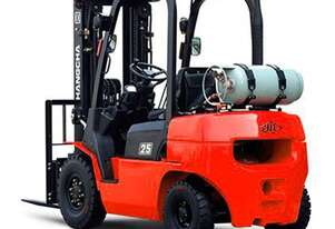 R Series 1.0-5.0t Internal Combustion Counterbalanced Forklift Truck