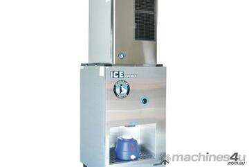 Hoshizaki 221kg Crescent Ice Machine with 90kg Ice Worksite Dispenser