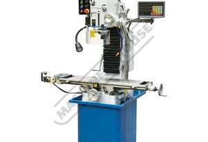 HM-48B Mill Drill - Geared & Tilting Head with Digital Readout System Table Travel: (X) - 670mm (Y)