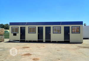 12M X 4M 4 ROOM INSTANT OFFICES TRANSPORTABLE BUILDING
