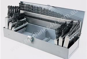 115 Piece HSS Drill Set - 1.0mm - 12.4mm / 0.1mm