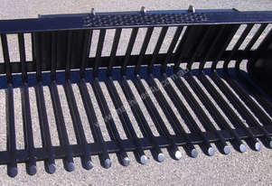 Skidsteer Open Back Rake Bucket 1640mm wide