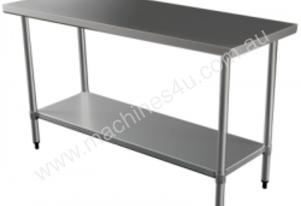 Brayco 2460 Flat Top Stainless Steel Bench (610mmW