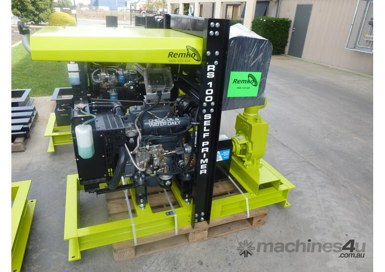 Remko RS100 Pumpset with Weather Protection