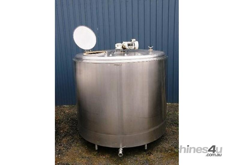 Stainless Steel Tank. 4,500lt Jacketed