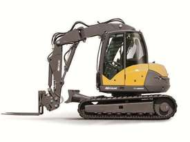 NEW MECALAC 8MCR HIGH SPEED EXCAVATOR LOADER - picture3' - Click to enlarge