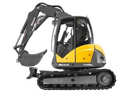 NEW MECALAC 8MCR HIGH SPEED EXCAVATOR LOADER - picture2' - Click to enlarge