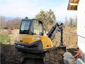 NEW MECALAC 8MCR HIGH SPEED EXCAVATOR LOADER - picture7' - Click to enlarge