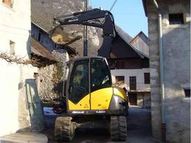 NEW MECALAC 8MCR HIGH SPEED EXCAVATOR LOADER - picture10' - Click to enlarge