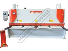 HG-3208VR Hydraulic NC Guillotine - Variable Rake 3200 x 8mm Mild Steel Shearing Capacity 1-Axis Ezy - picture3' - Click to enlarge