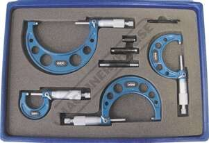 20-116 Imperial Outside Micrometers - 4 Piece Set  0-4
