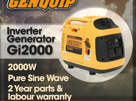 GENQUIP GI2000 INVERTER GENERATOR - picture0' - Click to enlarge