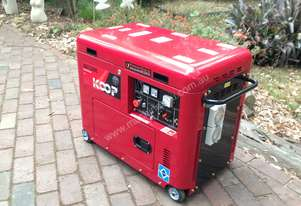 7KVA 11HP Silent Diesel Generator, Remote Start and Solar System 2 wire start ready